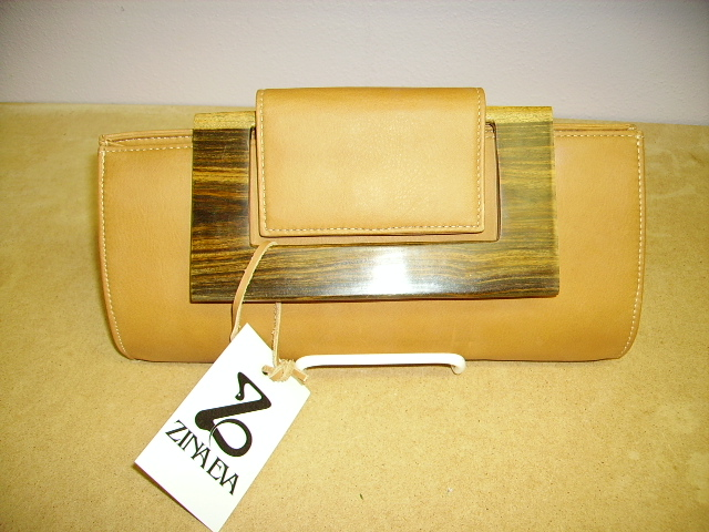 Zina Eva Leather Purse